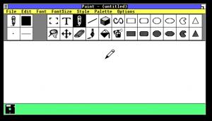 ZSoft Corporation's PC Paintbrush